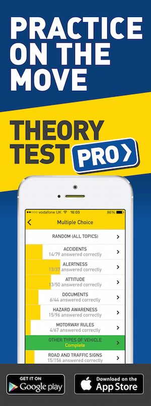 Theory Test Pro in partnership with Roberto's Driving School